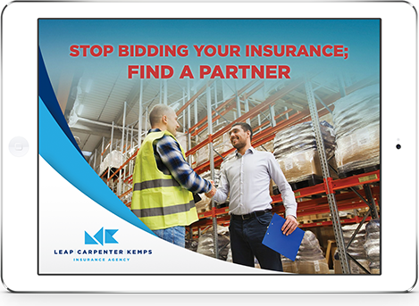 Free eBook | Stop Bidding Your Insurance; Find A Partner